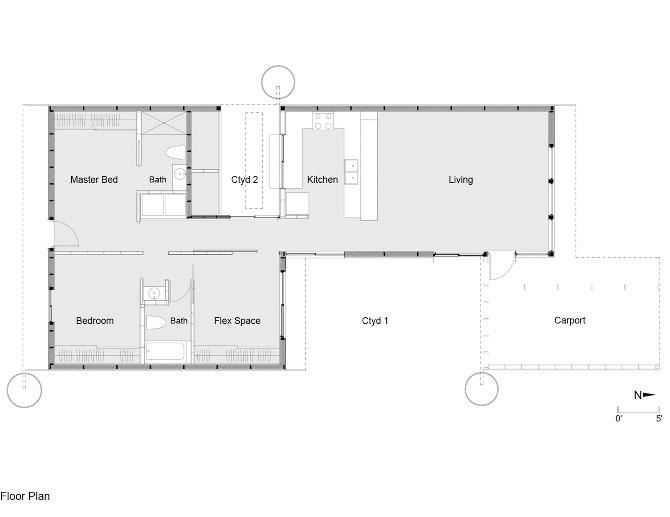 Drachman Design-Build Coalition Residence 3 floor plan