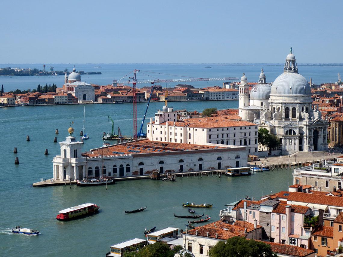 Tadao Ando, Punta della Dogana Museum, Venice. Photo by Laura Hollengreen.