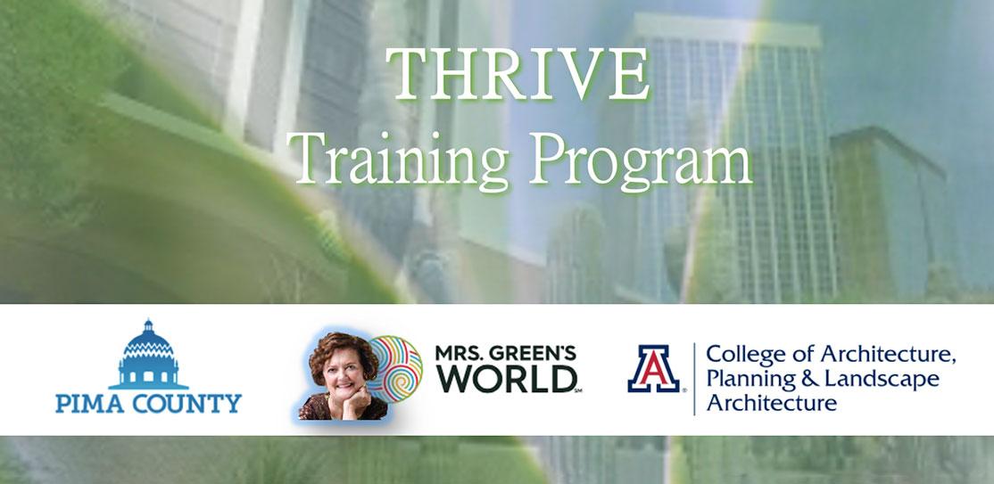 THRIVE Training Program screen