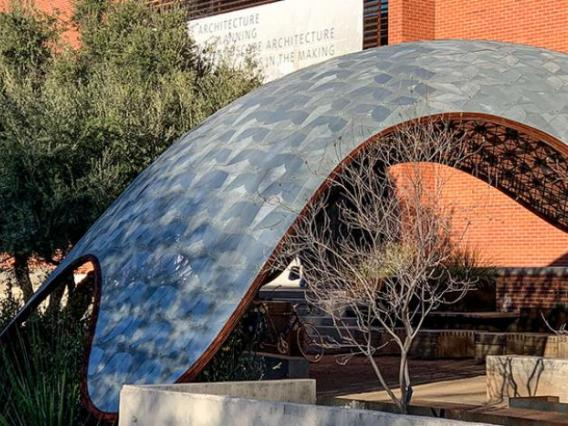 CAPLA building with gridshell