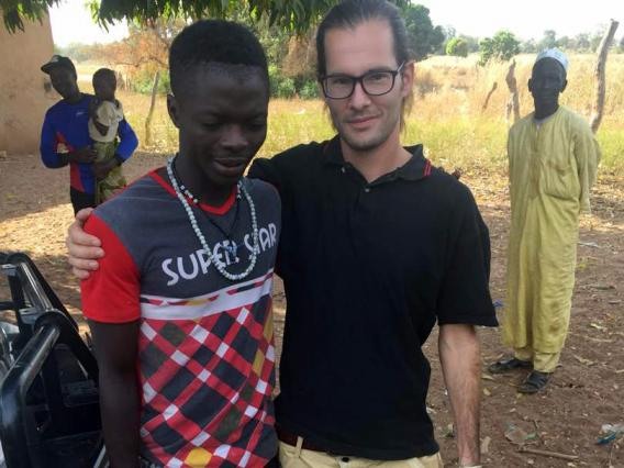 Sean Maccabe in The Gambia