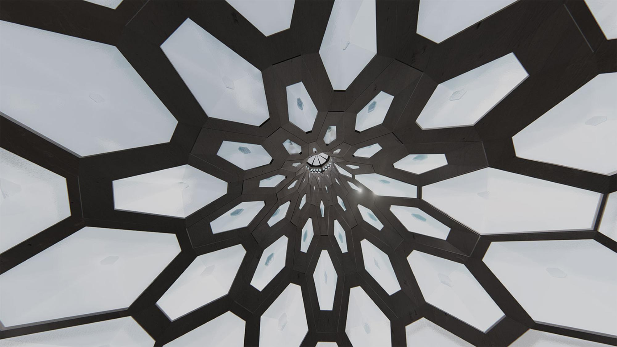 Adaptive Cooling and Daylighting Roof Aperture System, by Maryam Moradnejad