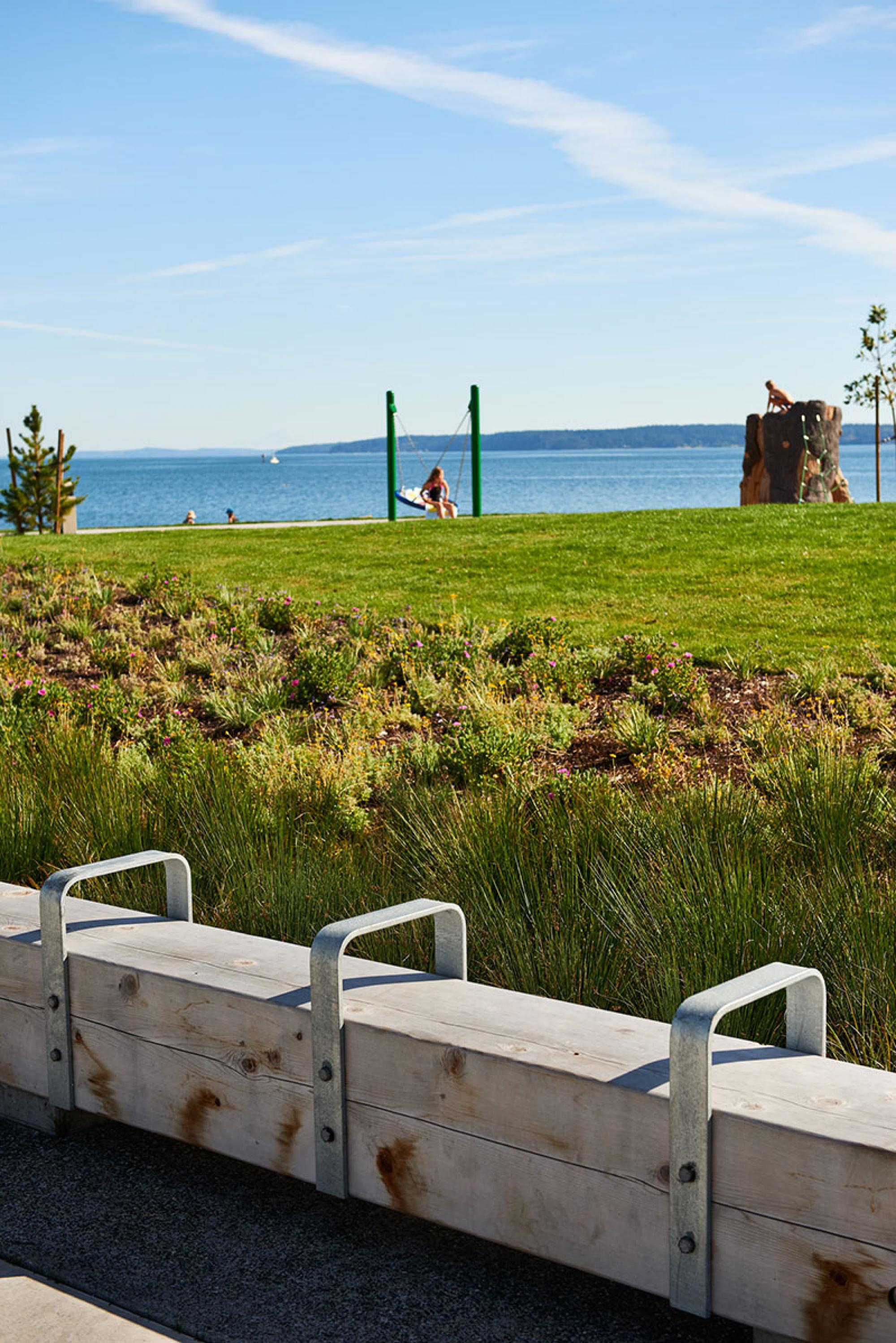 Oak Harbor Clean Water Facility + Windjammer Waterfront Park, by GreenWorks