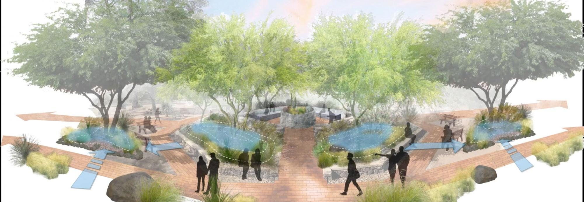 Illustration by Master of Landscape Architecture students