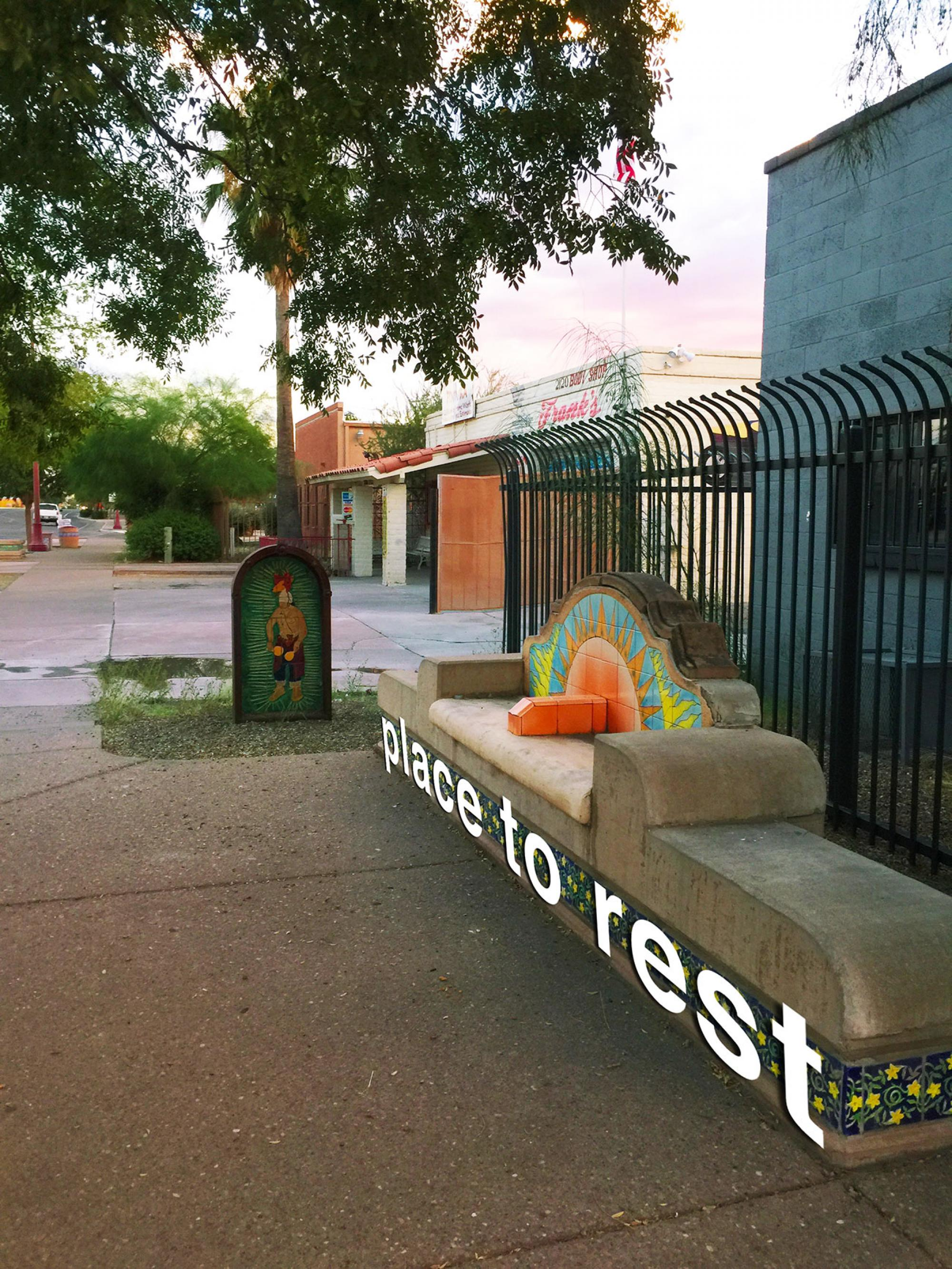 Place to Rest: Walkability in Tucson, by Gabby Abou-Zeid