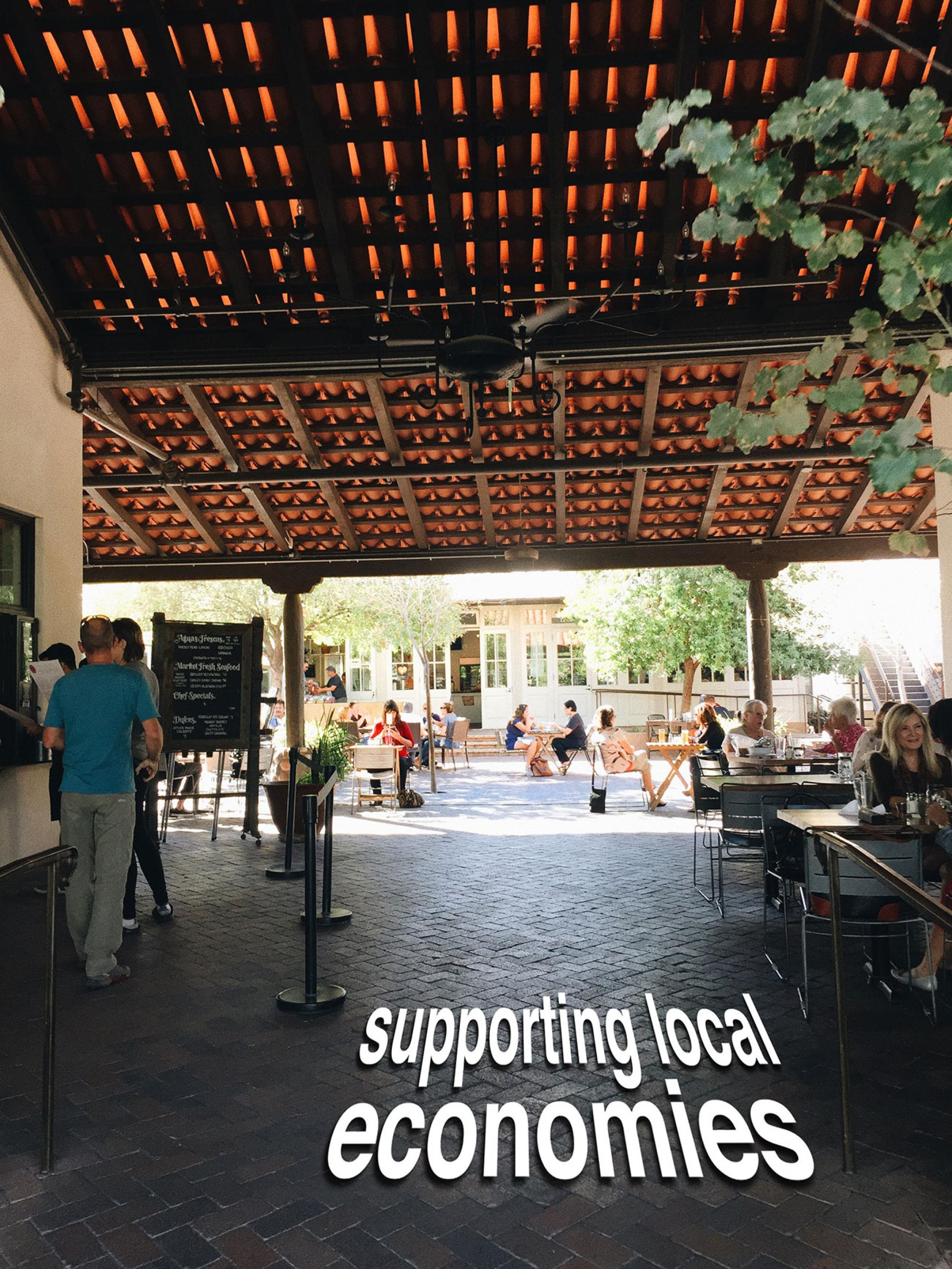 Supporting Local Economies: Walkability in Tucson, by Gabby Abou-Zeid