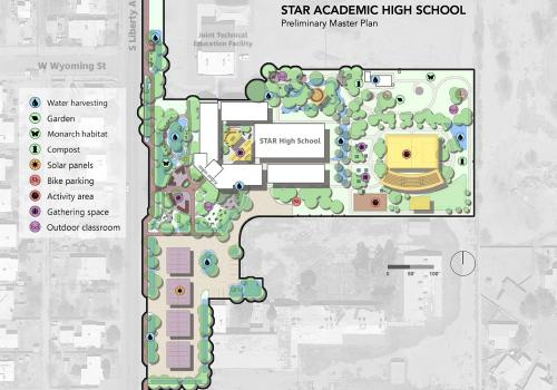 Preliminary Master Plan for Star Academic High School