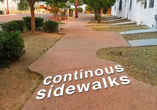 Continuous Sidewalks: Walkability in Tucson, by Gabby Abou-Zeid
