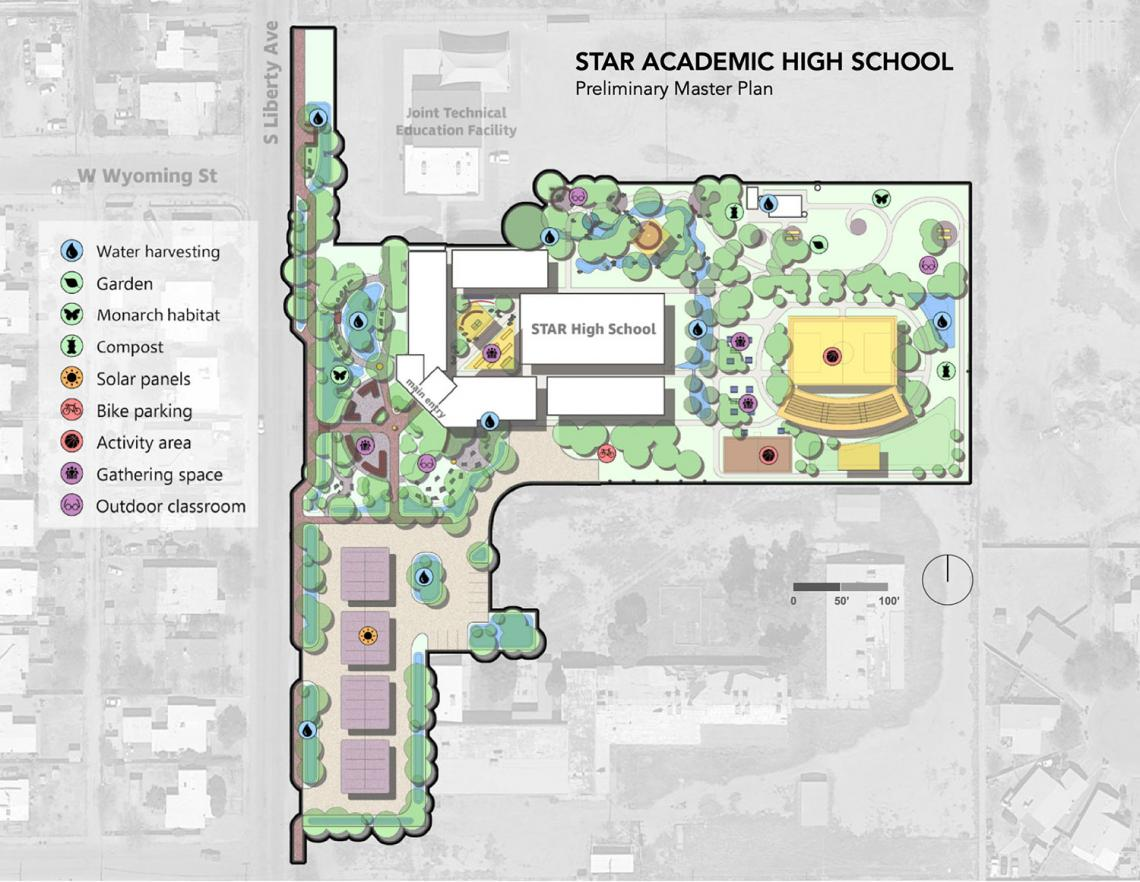 Star Academic High School Preliminary Master Plan