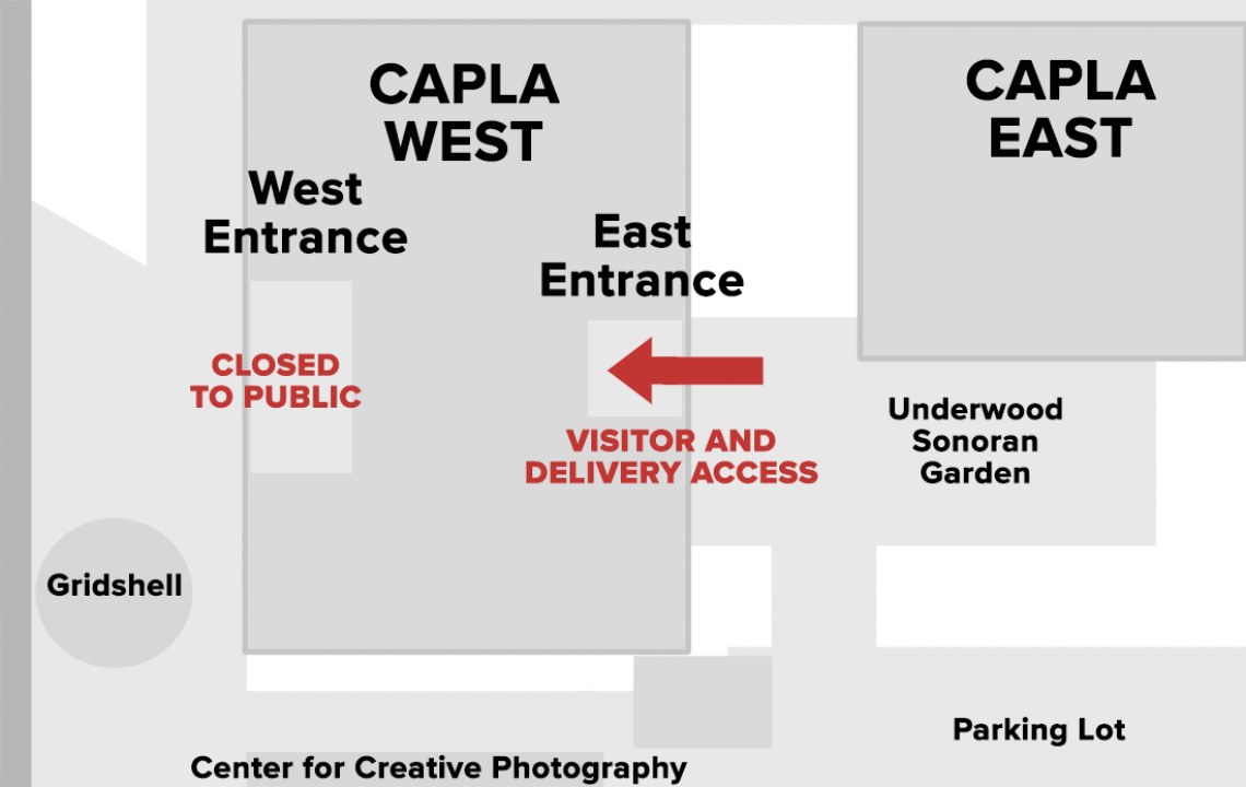 Visitor access to the CAPLA Building during COVID