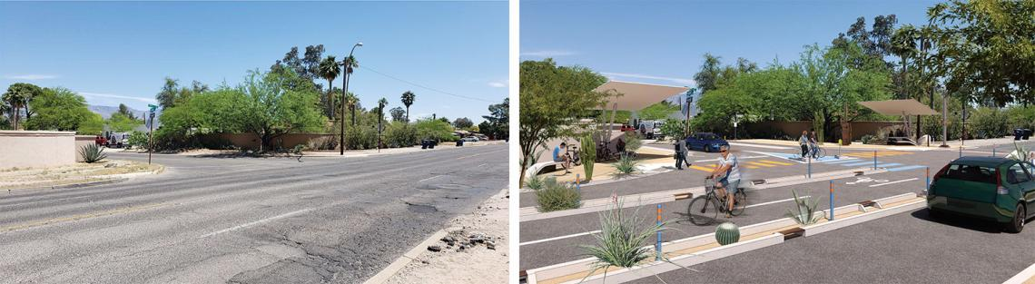 Before and after: 5th Street