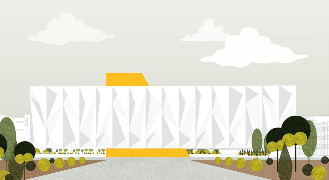 Center for Information and Collaboration, designed by Jenny Nguyen