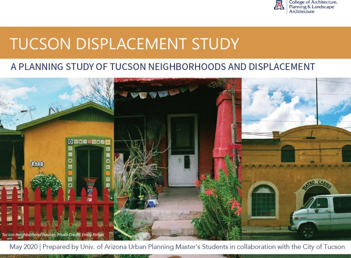 Tucson Displacement Study cover