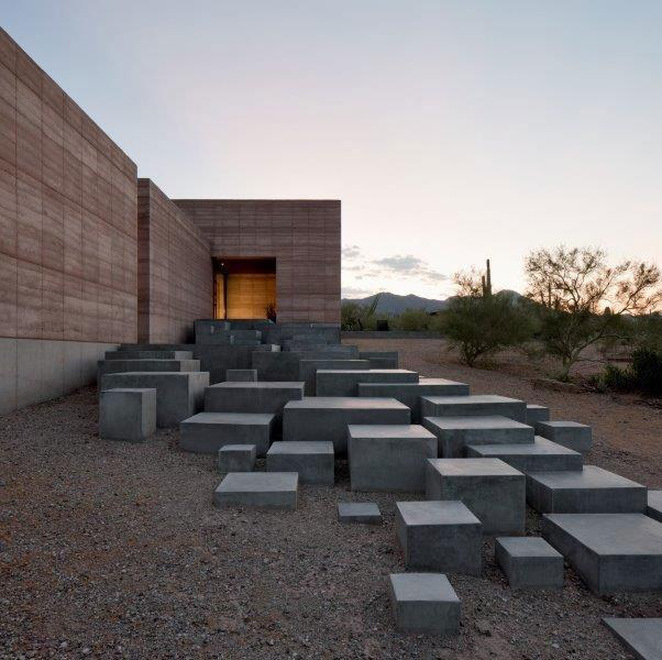 Tucson Mountain Retreat, by DUST Architects