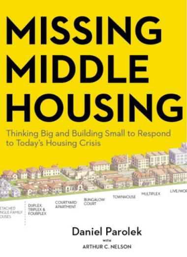 Missing Middle Housing book cover