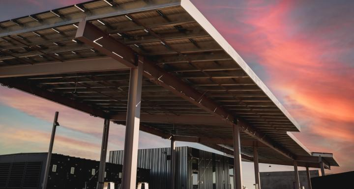 PV panels at ENR2