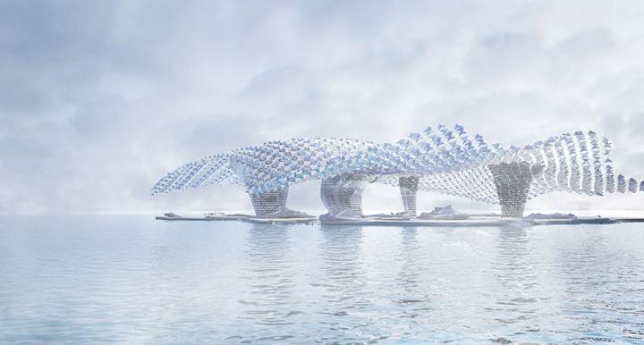 Soft Infrastructure rendering, by Luyi Huang